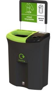 mixedrecycling bin